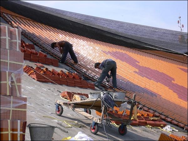 琉璃瓦铺设 - 永旺设计工程有限公司 - 寺庙施工